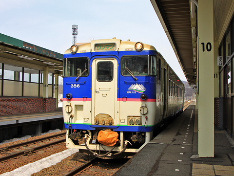 JR北海道 石勝線 キハ40 356
