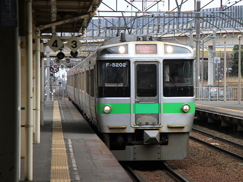 JR北海道 721系「エアポート143号」