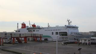 川崎近海汽船 シルバーフェリー「シルバーエイト」 アイキャッチ用 480