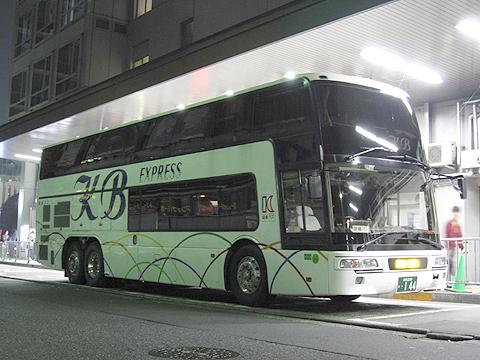 関東バス「やまと号五條線」エアロキング