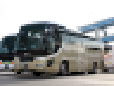 西鉄観光バス「GRANDAYS」 8545 モザイク