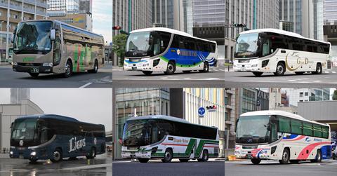 2020年 昼行高速バス運行距離ランキング