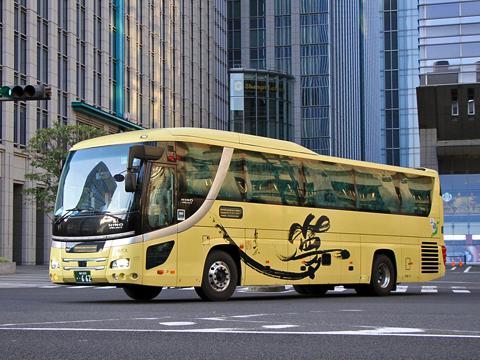 京福バス「昼特急福井号」 ・662