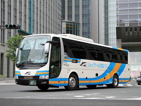 JR四国バス「ドリーム高知・徳島号」 8911_01