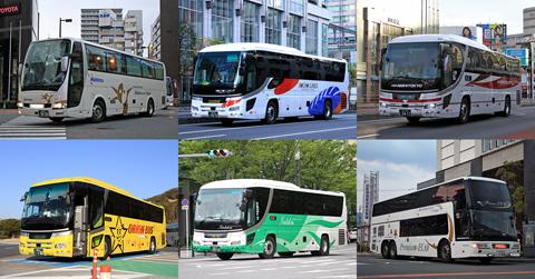 2020年 夜行高速バス運行距離ランキング 480