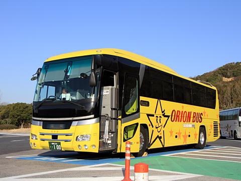 天領バス「オリオンバス」東京~山口・福岡線 ・100