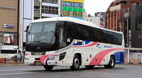 西日本JRバス「青春大阪ドリーム名古屋2号」 2243 アイキャッチ用 480