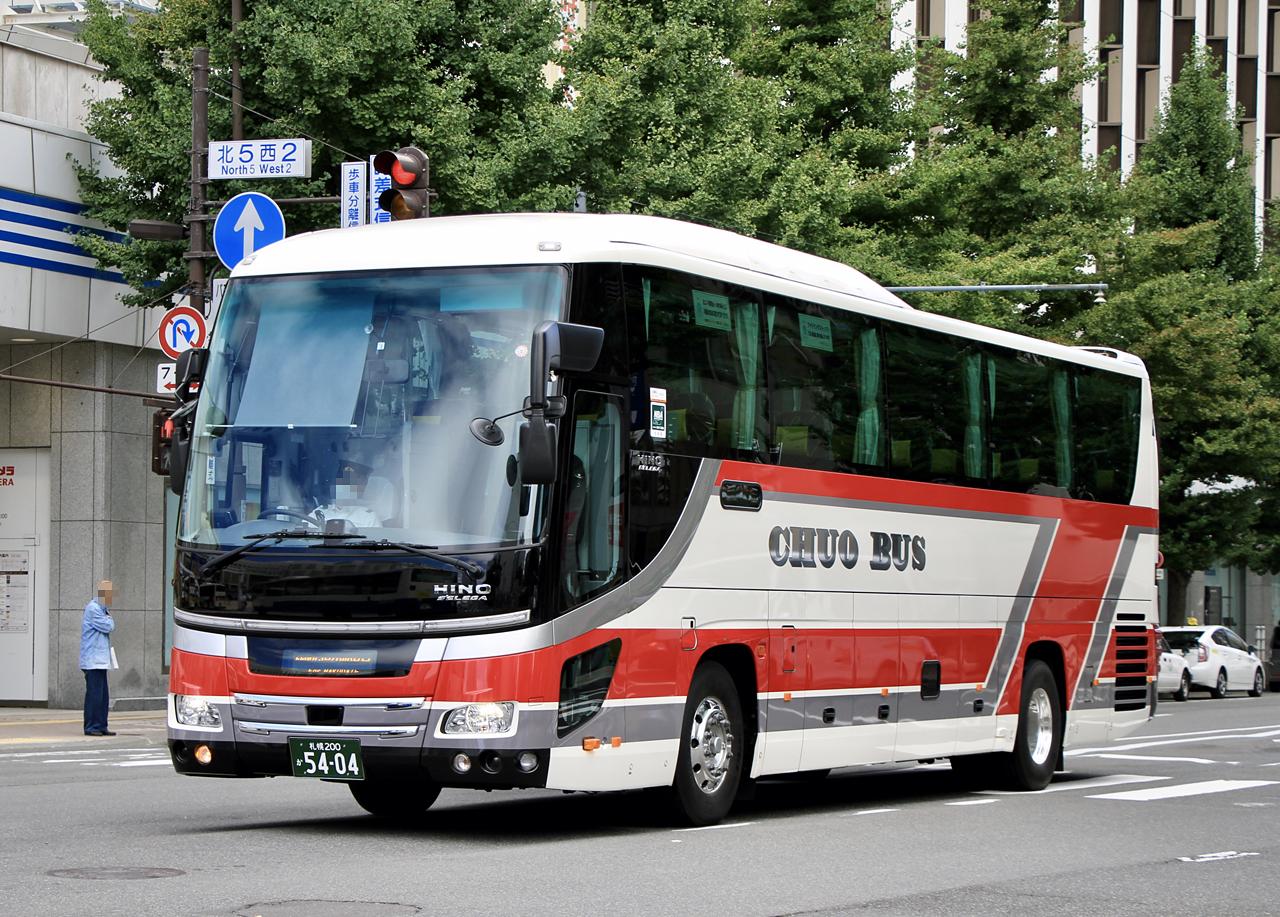 北海道中央バス「高速はこだて号」 5404_101