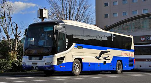 中国JRバス「出雲ドリーム博多号」 641-3955 アイキャッチ用 480