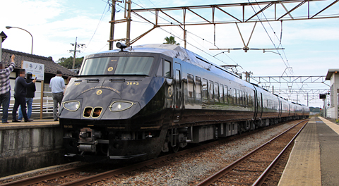 JR九州 787系「36ぷらす3」 牛ノ浜駅にて アイキャッチ用 480
