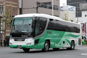 近鉄バス「カルスト号」京都2375