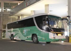 近鉄バス「国虎号」京都1879