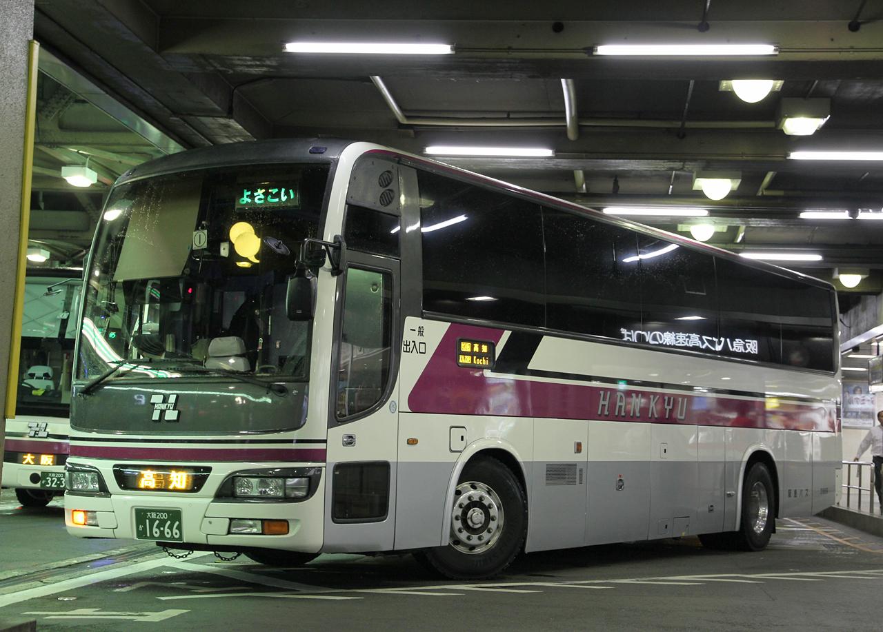 阪急バス「よさこい号」1666 01