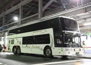 西日本JRバス「プレミアムドリーム号」・157(H24.07.07)