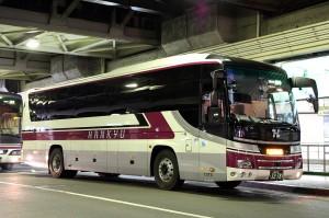 阪急バス「アルペン長野号」3278