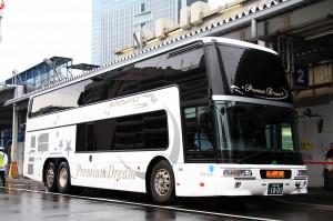 JRバス関東「プレミアム昼特急7号」1001